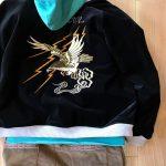 RADIALLスーベニアジャケットは太畝のコーデュロイパンツで!