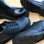 軽量化とグリップ性を追求!vibram2640ソールを装着したローリングダブトリオ新作ブーツ
