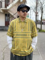【RADIALL / ラディアル】MONTE CARLO-OPEN COLLARED SHIRT S/S スタイルコーディネート