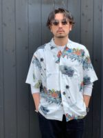 【RADIALL / ラディアル】BIBLE -OPEN COLLARED SHIRT S/S スタイルコーディネート